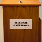 Beachwood bbq beer suggestion box