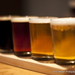 Beachwood bbq flight of house beer