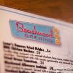 Beachwood menu top