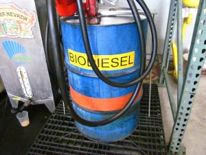 biodiesel powers trucks