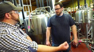 patrick rue and grant of urge gastropub discuss hops