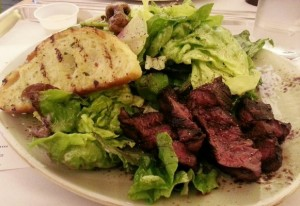 tender greens steak salad