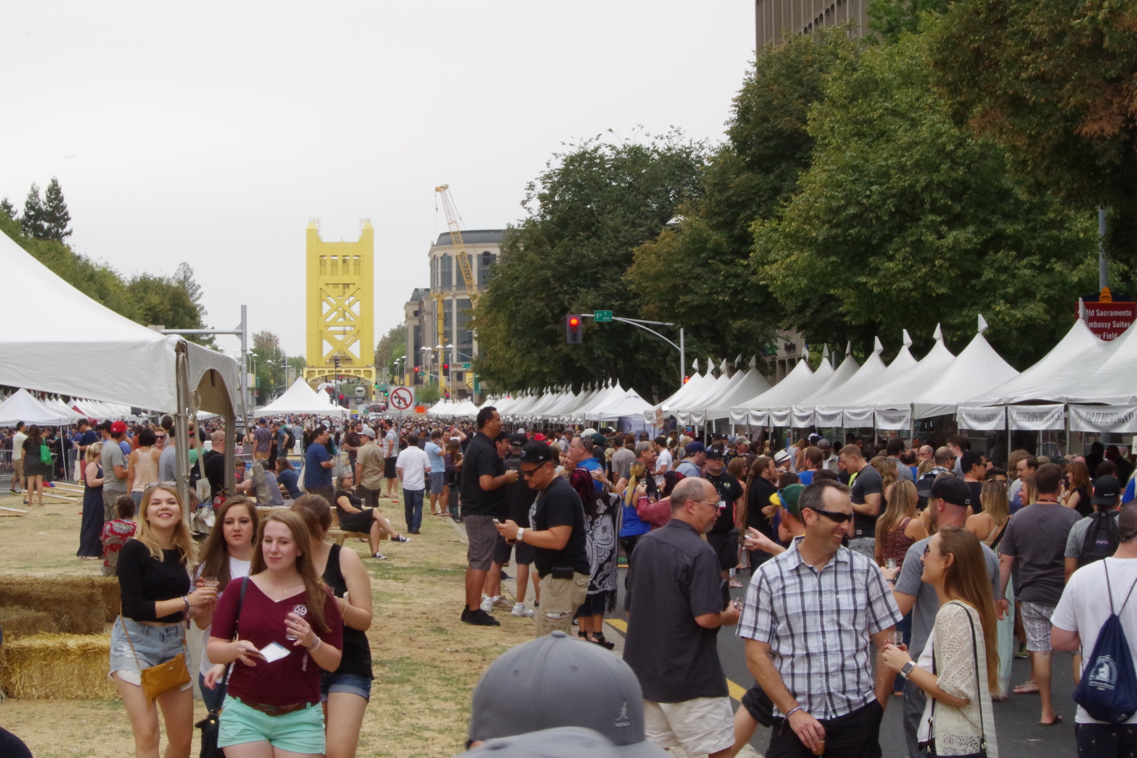 #9: The Fest to close things out. 150 CA breweries pour on the State Capitol mall.75 on this side, 75 on that side. No huge lines!